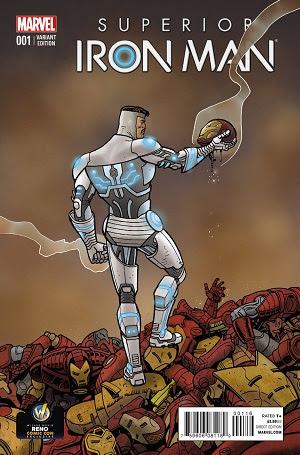 Superior Iron Man #1 Exclusive Variant