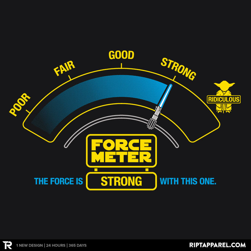 The Force-o-meter