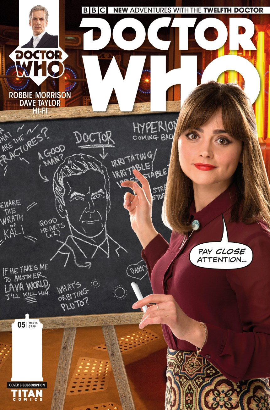 TWELFTH DOCTOR #5_Cover_B
