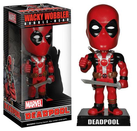 Wacky Wobblers Deadpool