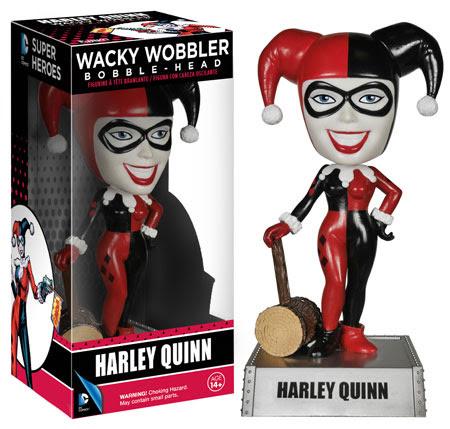 Wacky Wobblers Harley Quinn