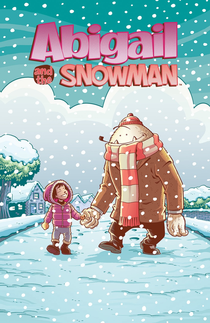 Abigail and the Snowman #1 Main Cover by Roger Langridge