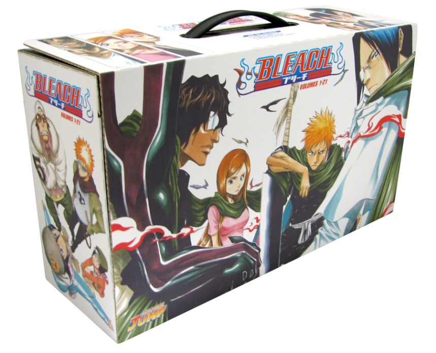 Bleach-Boxset01-Vols1thru21