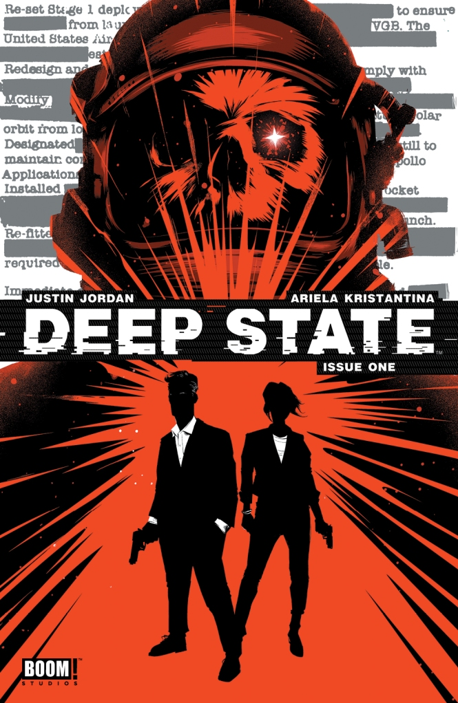 Deep State #1 2nd Printing Cover by Matt Taylor