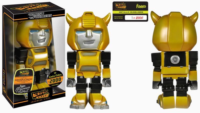 Metallic Bumblebee Hikari Sofubi Figure