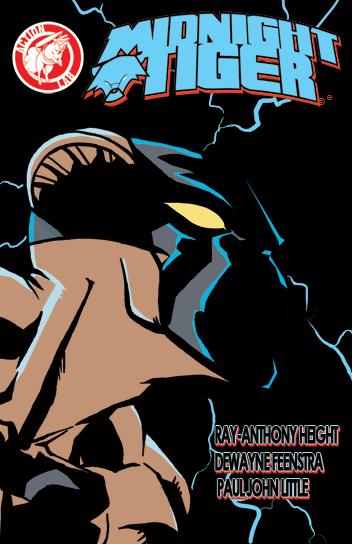 MIDNIGHT TIGER #2 cover