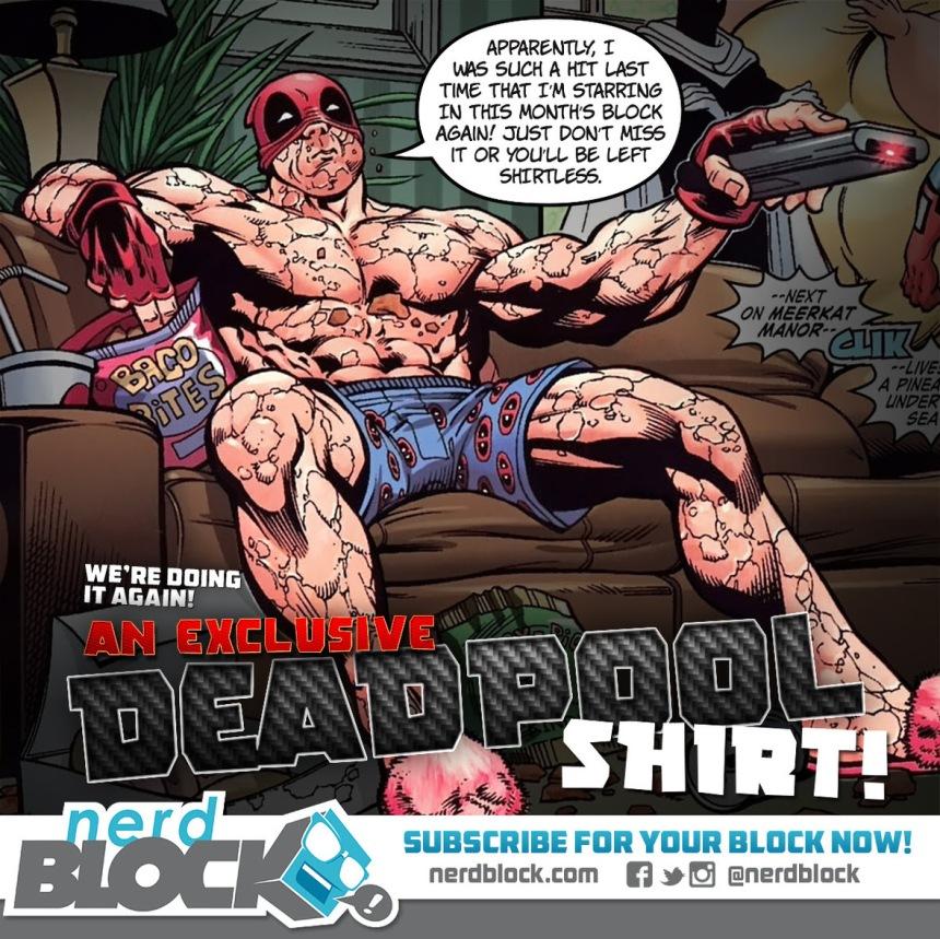 nerd block deadpool