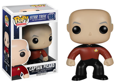 Pop! Television Star Trek The Next Generation Captain Picard