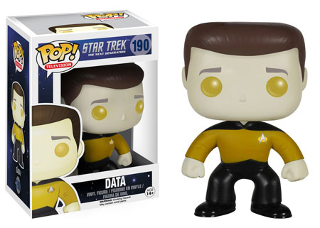 Pop! Television Star Trek The Next Generation Data