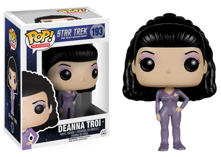 Pop! Television Star Trek The Next Generation Deanna Troi