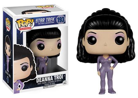 Pop! Television Star Trek The Next Generation Deanna Troi