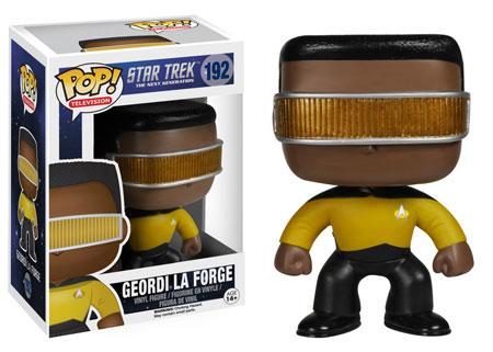 Pop! Television Star Trek The Next Generation Geordi La Forge