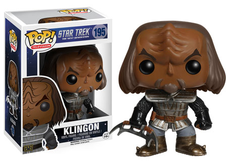 Pop! Television Star Trek The Next Generation Klingon