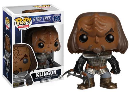 Pop! Television Star Trek The Next Generation Klingon