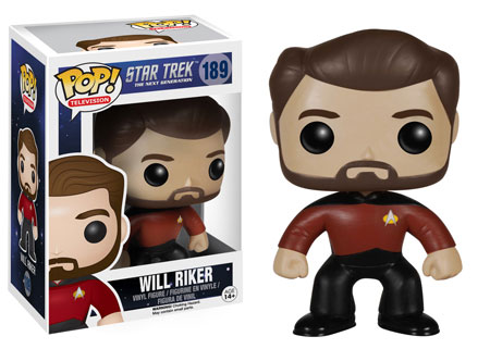 Pop! Television Star Trek The Next Generation Will Riker