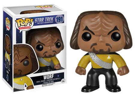 Pop! Television Star Trek The Next Generation Worf