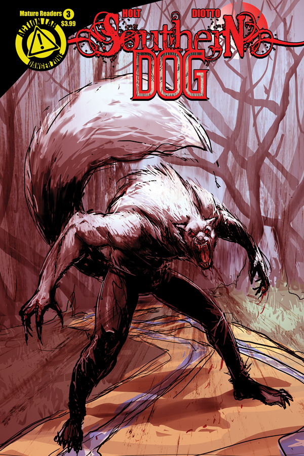 SOUTHERN DOG #3 cover
