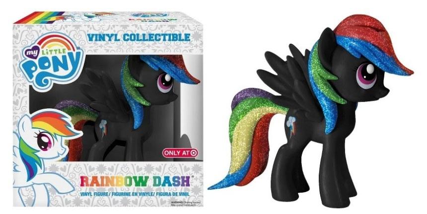 Target Exclusive Rainbow Dash Vinyl Figure