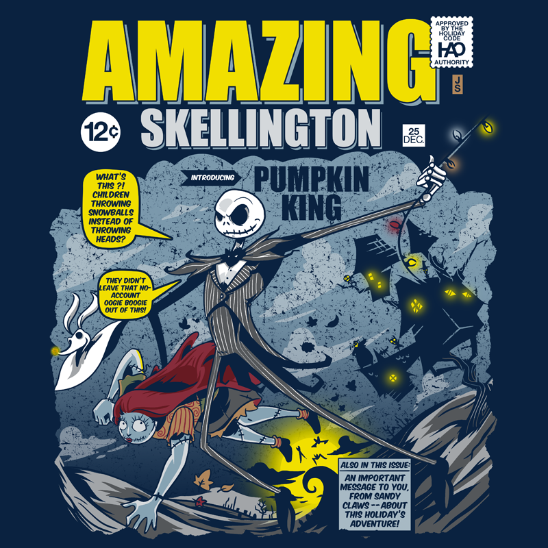 The Amazing Skellington