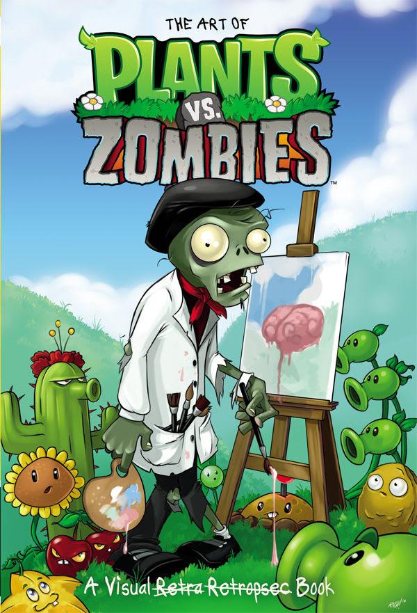 the art of plants vs zombies