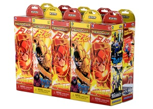 the flash heroclix booster brick