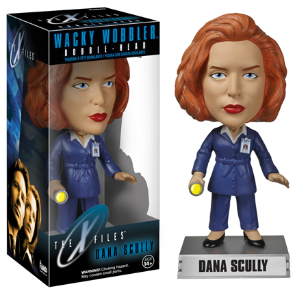 The X-Files Wacky Wobblers Dana Scully