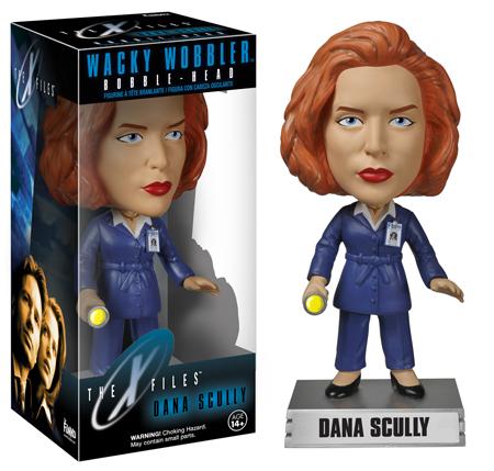 The X-Files Wacky Wobblers Dana Scully