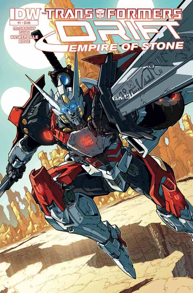 transformers drift empire of stone