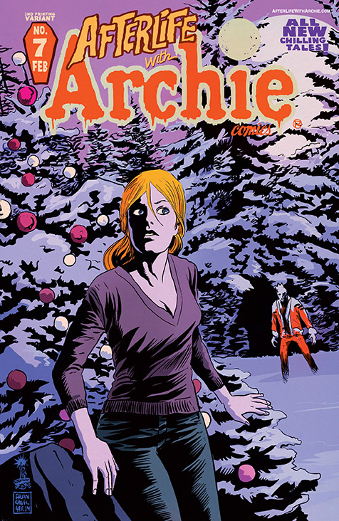 afterlife with archie 7 2nd printing