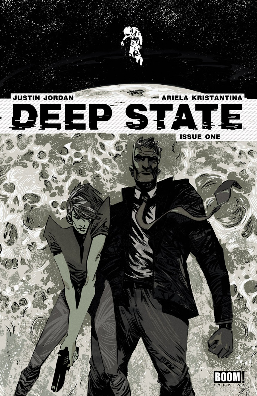Deep State#1 Third Print Cover by Eric Scott Pfeiffer