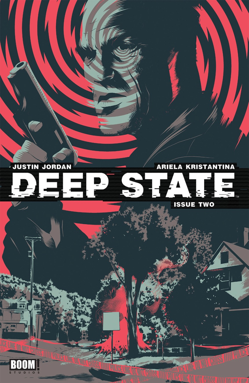 Deep State#2 Second Print Cover by Matt Taylor