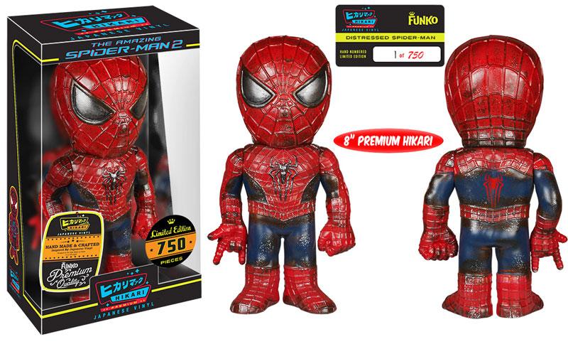 Distressed Spider-Man Hikari Premium Sofubi Figure