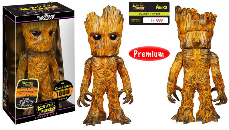 Entertainment Earth Exclusive Planet X Groot Hikari Premium Sofubi Figure