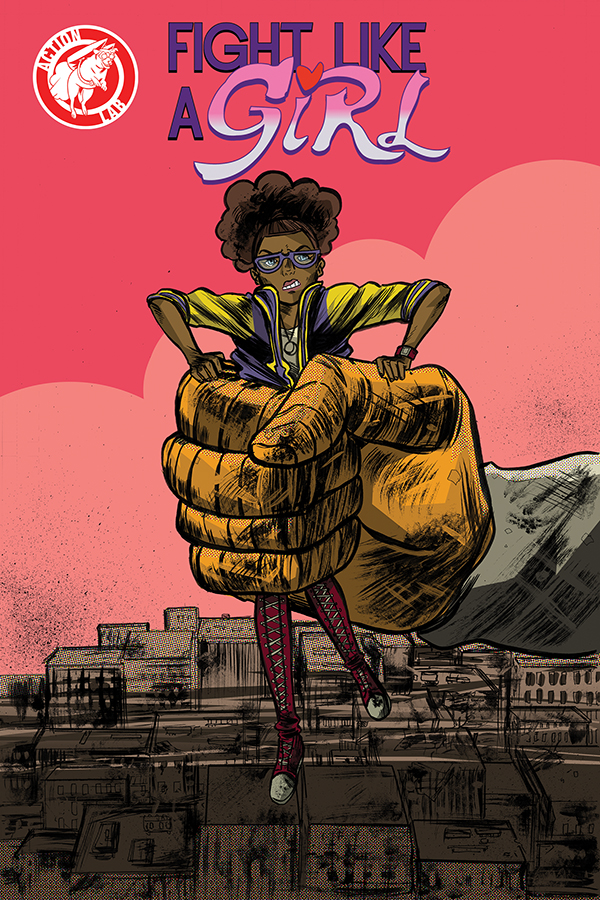 FIGHT LIKE A GIRL #2 cover