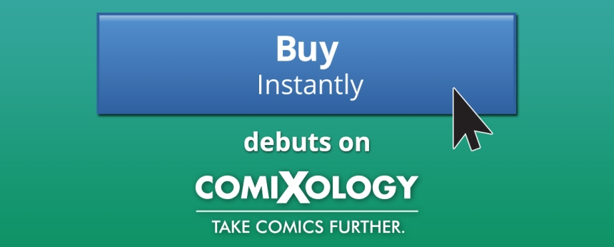 instant checkout comixology
