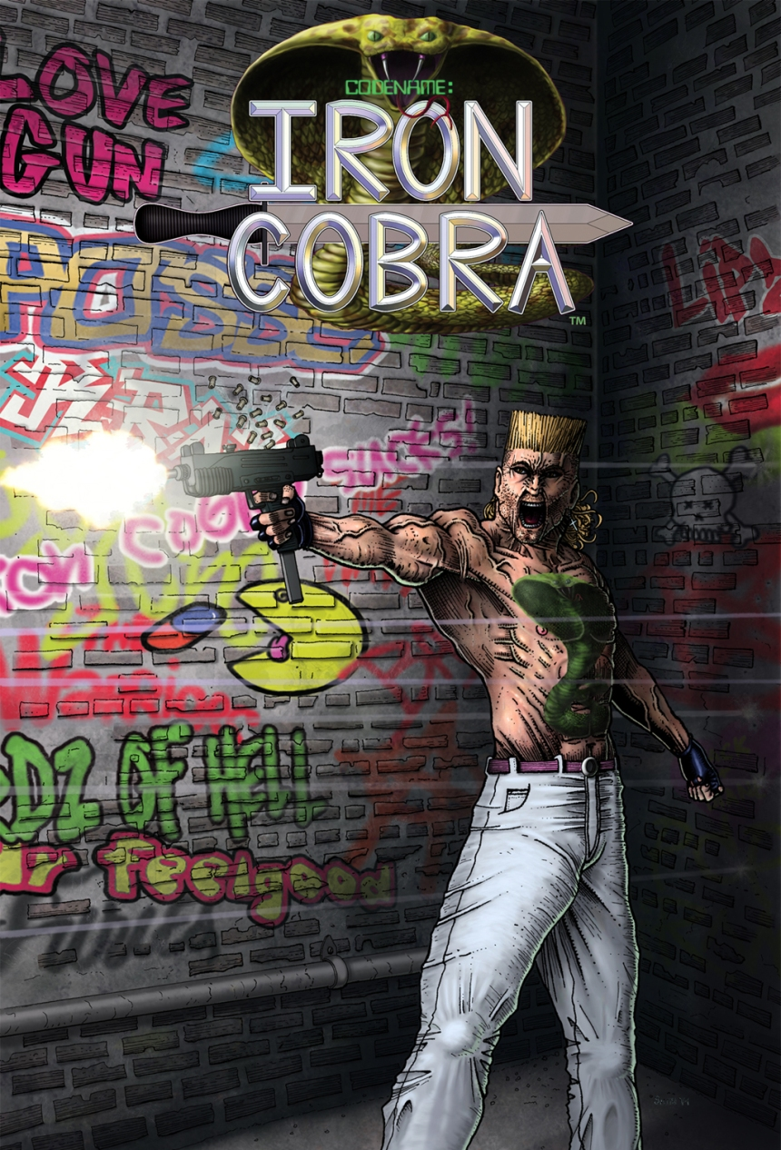 Iron Cobra Promo Poster 2