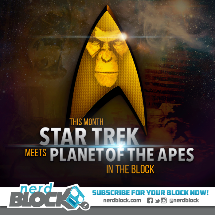 planet of the apes star trek nerd block