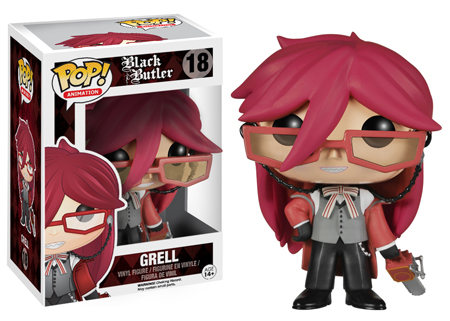Pop! Animation Black Butler Grell