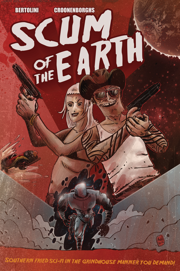 SCUM OF THE EARTH TPB