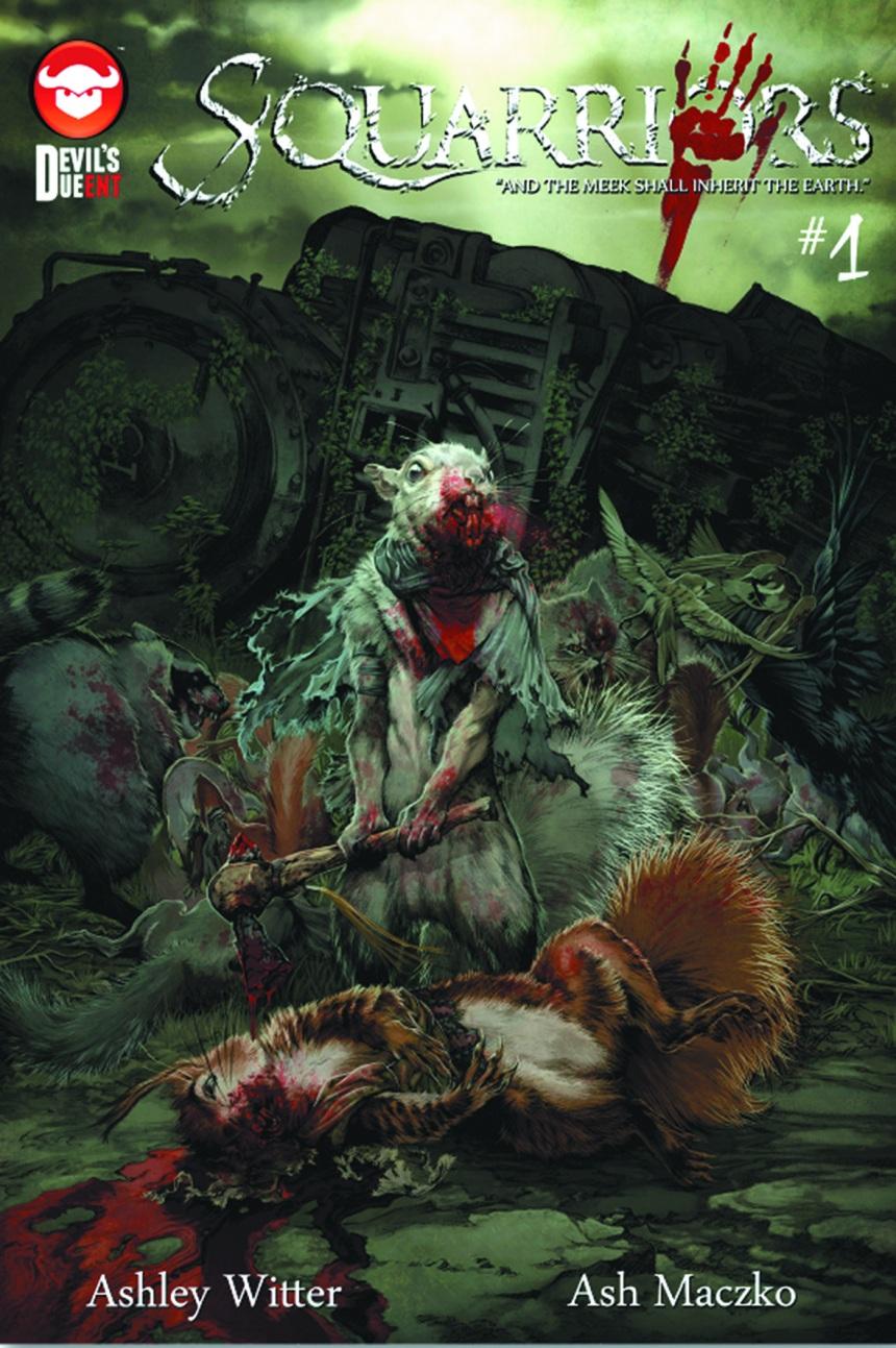 squarriors #1 cover