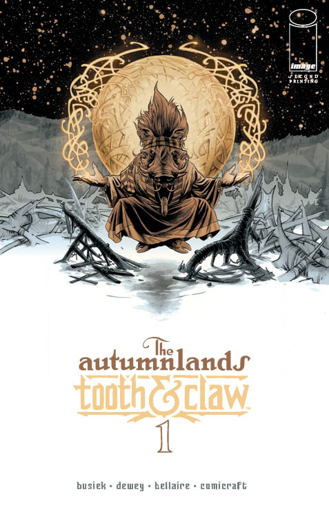the autumnland tooth and claw #1 2nd printing