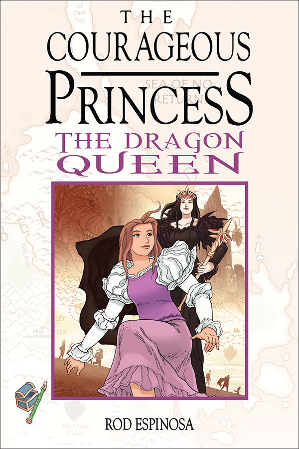 The Courageous Princess the dragon queen