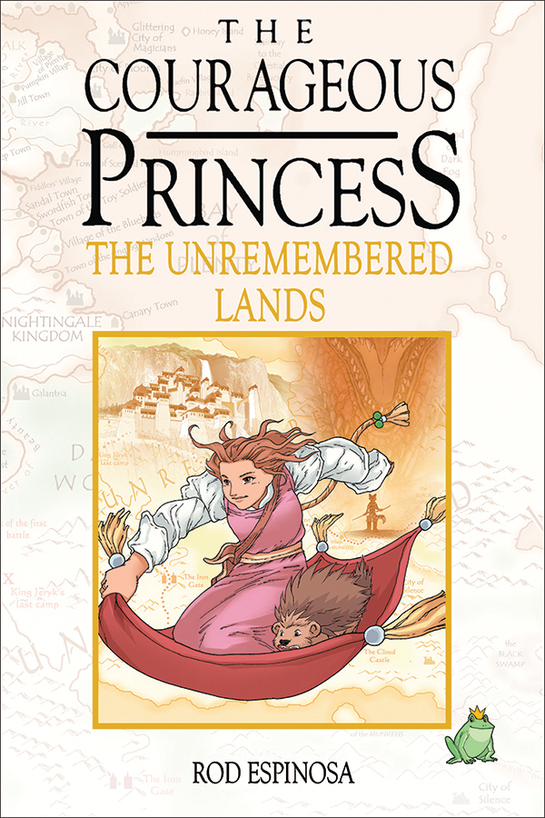 The Courageous Princess the unremebered lands