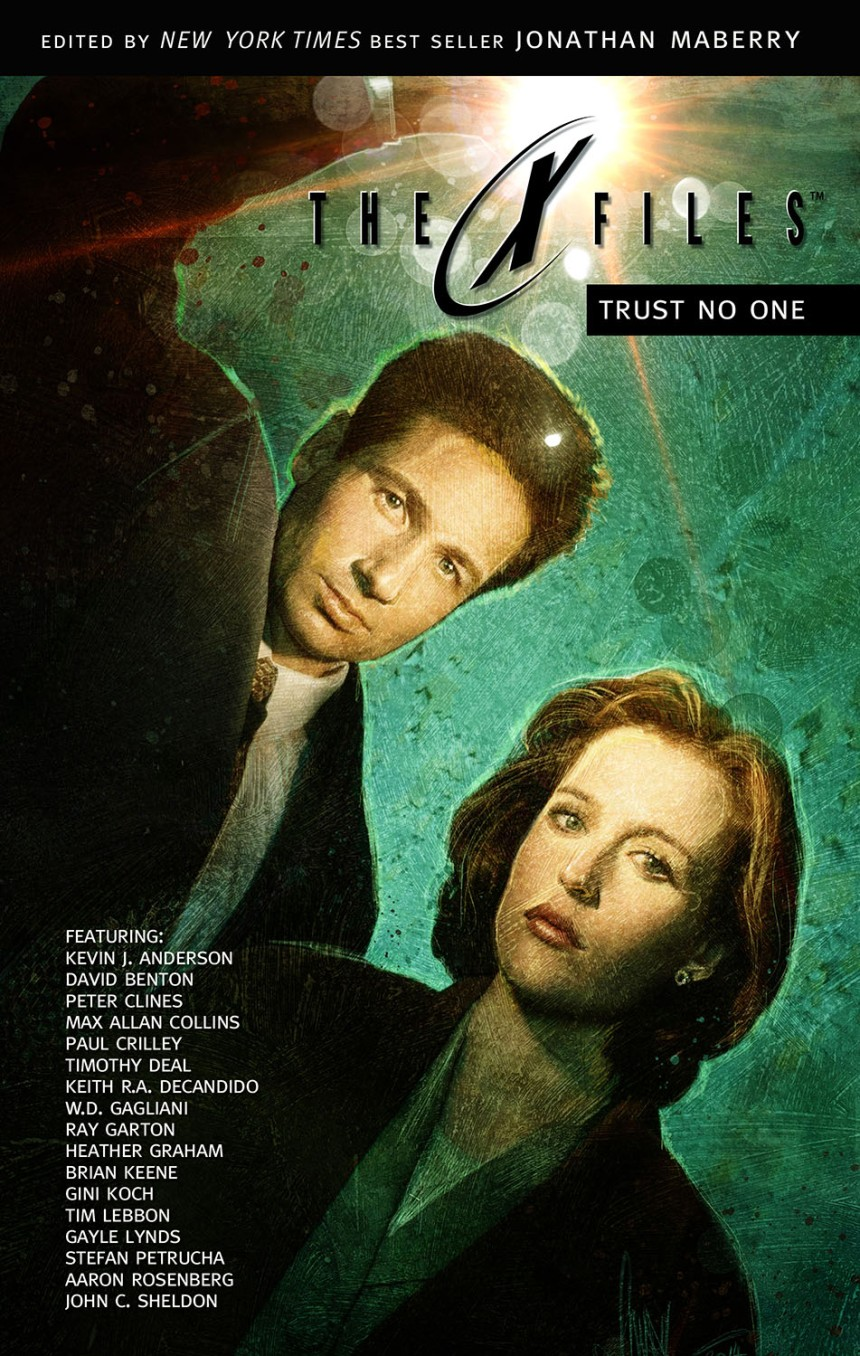 X-Files Prose Anthology Cover