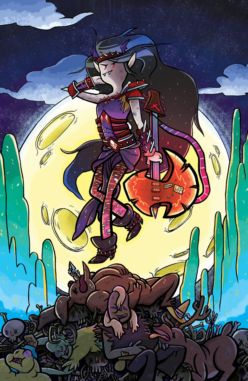 Adventure Time Marceline Gone Adrift #1 Cover B by Mychal Amann