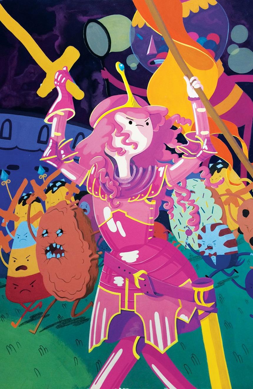 Adventure Time Marceline Gone Adrift #1 Cover D by Britt Wilson