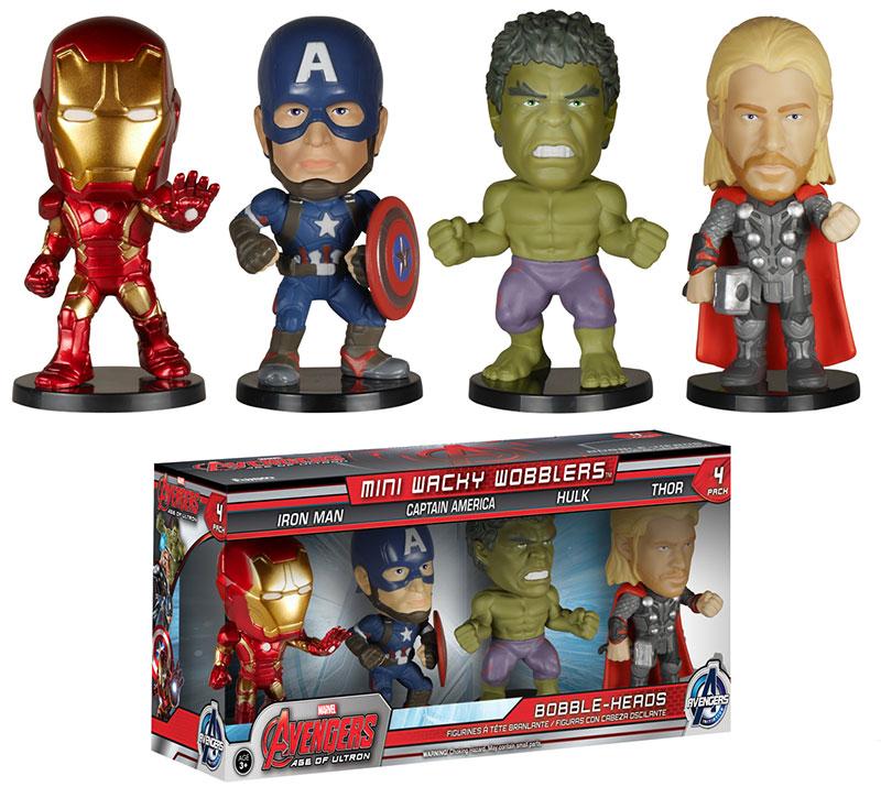 Avengers Age of Ultron Mini Wacky Wobblers 1