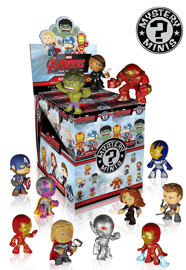 Avengers Age of Ultron Mystery Minis 1
