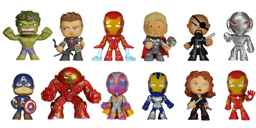 Avengers Age of Ultron Mystery Minis 2