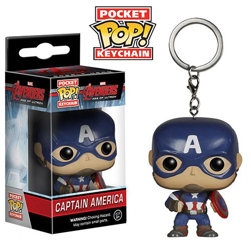 Avengers Age of Ultron Pocket Pop! Keychain Captain America